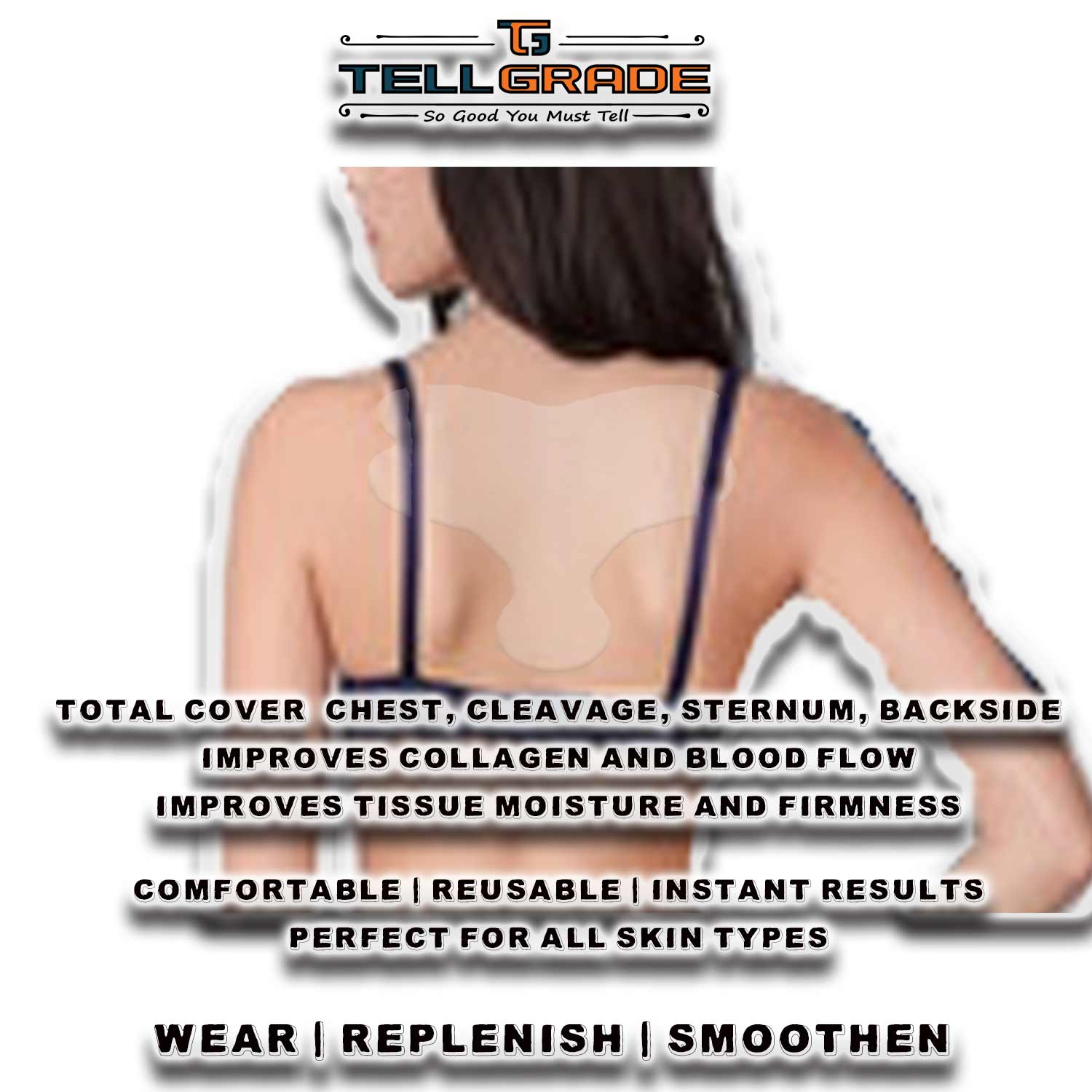 TellGrade Anti wrinkle Chest Pad Poster 4-a